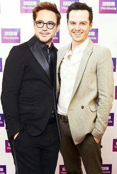 Andrew Scott & Robert Downey Jr