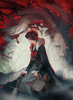 Godswood Heart, por CeruleanRaven