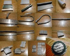 """step by step necklace """"cardiogram"""" - tutorial"""