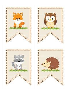 Woodland Baby Shower Banner, Woodland Animal Banner, Woodland Banner, Printable Woodland Baby Banner, Forest Banner - Printables 4 Less 0087 - Woodland Baby Shower Banner Woodland Animal Banner Woodland Idee Baby Shower, Baby Shower Garland, Shower Bebe, Baby Boy Shower, Baby Shower Gifts, Baby Gifts, Woodland Theme, Woodland Baby, Woodland Animals