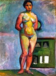 Female Nude Vilmos Perlrott-Csaba - 1910 Rippl-Rónai Muzeum (Hungary) Painting - oil on canvas Height: 52 cm in.), Width: 41 cm in. Matisse, Critique D'art, Display, Journal, Drawings, Inspiration, Image, Recherche Google, Art Nouveau