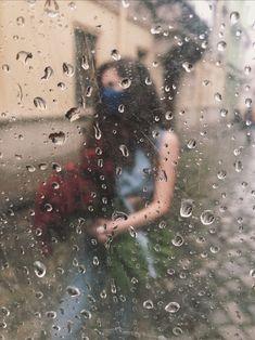 #quarantine #mask #girl #flowers #rain