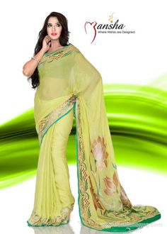 Latest Indian Sarees Collection 2014 In Stores