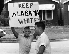 """History doesn't forget.  Photo by Flip Schulke, """"Student at Montgomery High School protest intergration, 1963"""""""