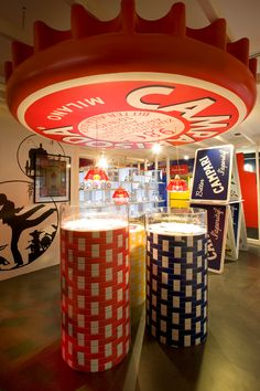 Campari's story includes a long history of collaboration between industry and art. With Depero (creator of the ironic Camparisoda bottle), it lasted 10 years, from 1926 to 1936. But many other Internationally renowned artists such as Leonetto Cappiello and Bruno Munari also worked for the brand.