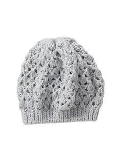 Open Knit Beanie - Cloud Cover
