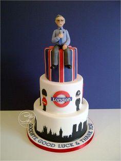 Farewell London - Cake by CakeyCake