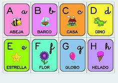 Los duendes y hadas de Ludi: Cartas del abecedario