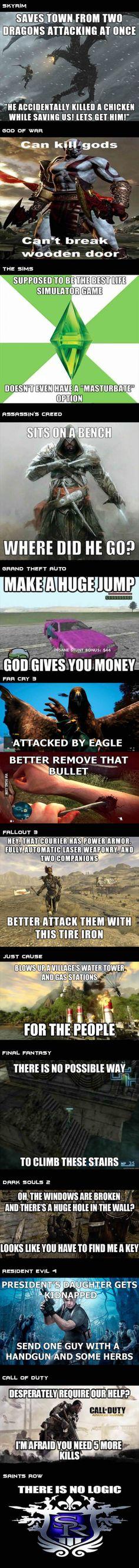 Game logic in nutshell...
