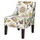 Swoop Upholstered Accent Chair - Gorgeous Pearl