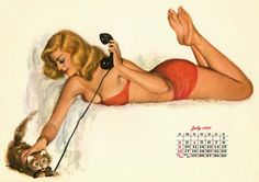 Al Moore Calendar Girls from Esquire