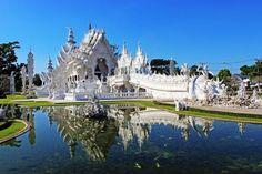 Visiter Chiang Rai, le temple blanc et le triangle d'or