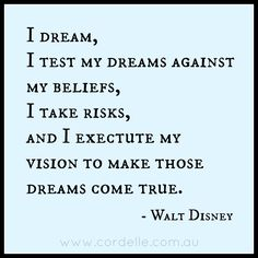 A Walt Disney quote to focus on in my business