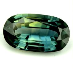 0.98ct Certified Natural Bicolor Sapphire