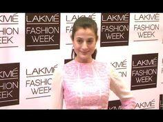 Ameesha Patel BEAUTIFUL @ Lakme Fashion Week 2014.