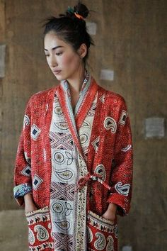 Kantha Gown - TOAST