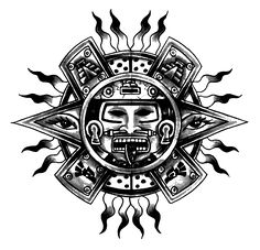 Coloring page: Aztec Mythology (Gods and Goddesses) #36 - Printable coloring pages