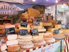 French Cheese Market. More like cheese heaven! I never loved cheese until I lived in Paris.