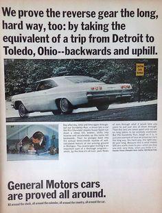 1965 Chevy Impala Ad