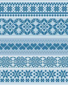 fair isle pattern 3 by gin!?, via Flickr