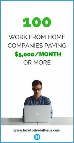 Looking to quite your job and work from home? These companies/websites may be great substitutes, or even better. Check it out! www.howtoliveintheus.com