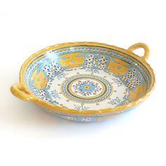 Emilia Ceramics - Round Serving Dish - La Fiesta
