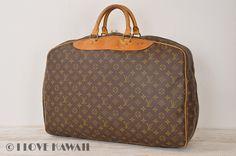 Louis Vuitton Monogram Alize 1 Poche Travel Bag Suitcase M41393