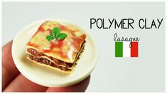 Hi charming guys!Iin this tutorial I'm going to show you how to make miniature polymer clay lasagne.I hope you're going to like it! ♥ EXPAND for more info & ...