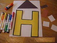 Letter H Crafts İdeas - Preschool Crafts