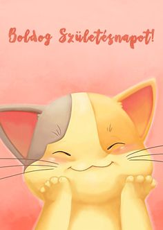 Boldog Születésnapot! - leplap.hu Happy Brithday, Holidays And Events, Happy Day, Birthday Wishes, Pikachu, Birthdays, Scrapbook, Thoughts, Humor