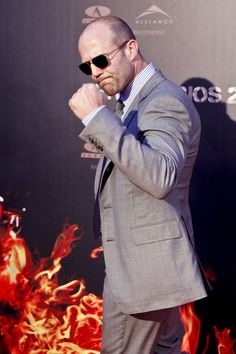 """Jason Statham Photos - Jason Statham attends the """"The Expendables premiere photo-call at Callao Cinema on August 2012 in Madrid, Spain. - Celebs at the 'Expendables Premiere Guy Ritchie, Celebrity Outfits, Celebrity Couples, Celebrity Style, Jason Statham, Ufc, Handsome Rob, Claude Van Damme, Mel Gibson"""