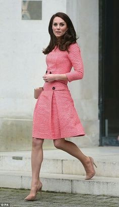Catherine Duchess of Cambridge in London. March 23 2017