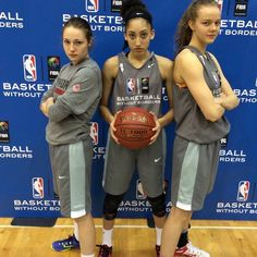 Niyah Becker represented Canada this past weekend at the Basketball Without Borders Global Camp in Toronto @nbacanada @canadabasketballofficial