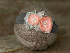 Diy Baby Headbands, Vintage Headbands, Diy Headband, Flower Headbands, Ribbon Flower Tutorial, Hair Bow Tutorial, Ribbon Hair Bows, Ribbon Rose, Baby Girl Hair Accessories