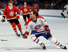 Guy Lafleur - Le Démon Blond -- the reason why I'm a Habs fan. (Well, that and the Barons leaving Cleveland.)