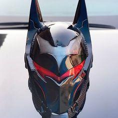 Dc Cosplay, Best Cosplay, Cosplay Costumes, Armor Concept, Concept Art, Green Goblin Mask, Deathstroke Mask, Futuristic Helmet, Batman Redesign