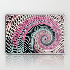 Double helix, DNA, spirals, whatever you want to call them, here are a few of our favorite twisty designs from artists. Laptop Skin, Dna, Print Design, Dairy, Spirals, Double Helix, Prints, Fresh, Image