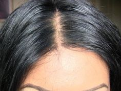 ▶ How I get a NATURAL Wig Hairline - YouTube