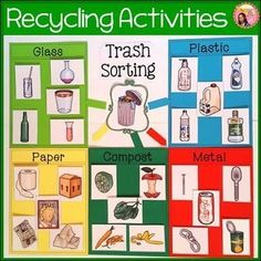 Recycling Activities and Posters $ #science