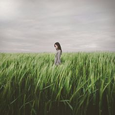 Alone in the field