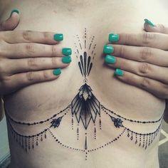 under brest tattoo designs (35)
