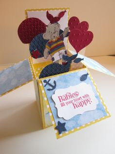Welcome Baby Card In A Box - Yvette Marie Jones