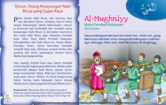 Kisah Asma& Husna Al-Mughniyy Kids Story Books, Stories For Kids, Islamic Messages, Islamic Quotes, Learn Islam, Islam Muslim, Islamic Art, Kids And Parenting, Diy And Crafts