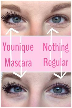 Younique's naturally based 3D Fiber Mascara! The most amazing beauty product I've ever used. Get up to 300% increase in length and volume without the cost or time required for extensions!!