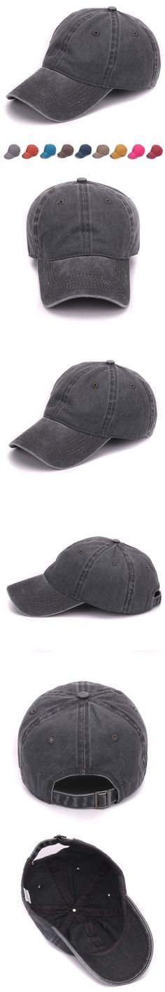 Plain dyed sand washed 100% soft cotton cap blank baseball cap with no embroidery sport mens cap and hat for men and women $8.6