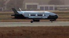 Unmanned Air Force space plane lands after secret mission   Cutting Edge - CNET News