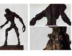 Doom 4 Hell Knight, welded steel