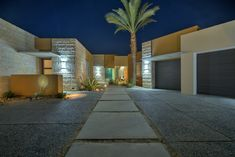 Rancho Mirage Rancho Mirage, Desert Oasis, Sparkling Lights, Contemporary Architecture, Natural Beauty, Deserts, Sidewalk, Flooring, City