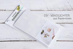 Deko, Wohn- und DIY Blog - White and Vintage: DIY-Windlichter aus Papiertüten…