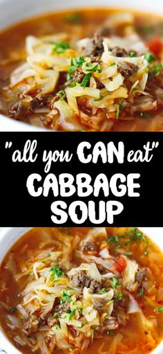 Keto Cabbage Soup Recipe very quick and easy to make nutritious and delicious soup made with cabbage ground beef and tomatoes. Hearty one pot a family favorite perfect for the cold weather. Quick Soup Recipes, Cabbage Soup Recipes, Cabbage Soup Diet, Beef Recipes, Cooking Recipes, Healthy Recipes, Cabbage Meals, Cabbage Hamburger Soup Recipe, Stuff Cabbage Soup
